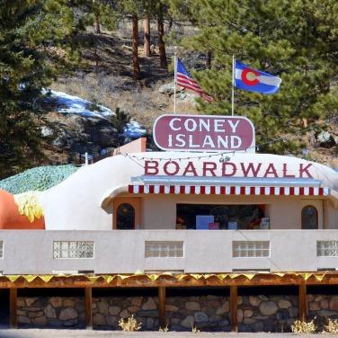 Coney Island Boardwalk, Bailey, Colorado.