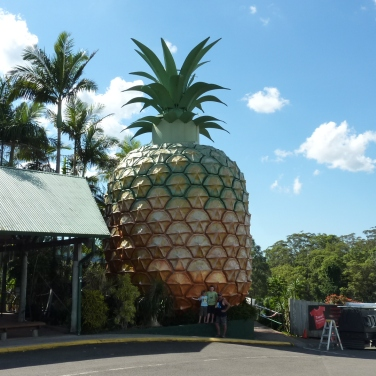 Big Pineapple in Queensland, Australia.