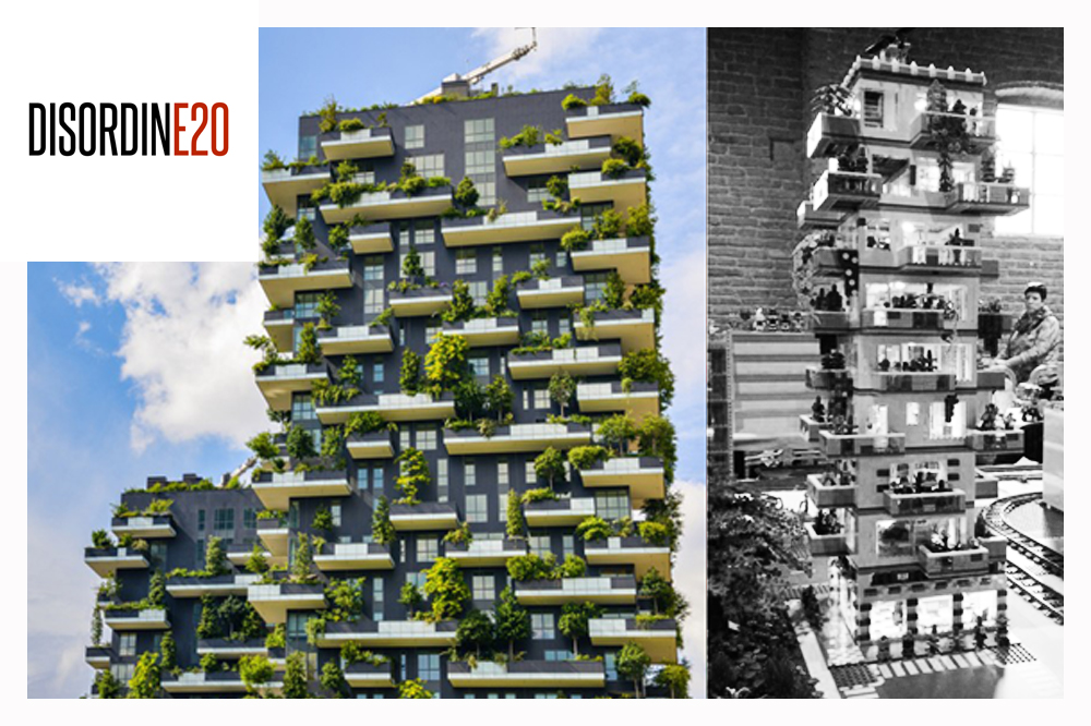 Lego loves architecture il bosco verticale in mostra a for Bosco verticale architetto