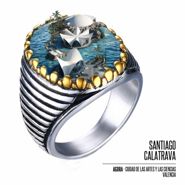 "SERIE #gioielliarchitettura - ""Summer Calatrava"""