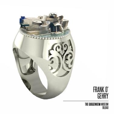 SERIE #gioielliarchitettura - Indossare un FRANK O'